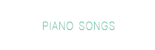 Piano songs collection