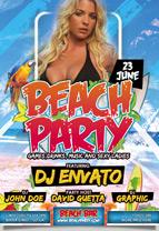 Spring Break & Beach Party Flyer - 3