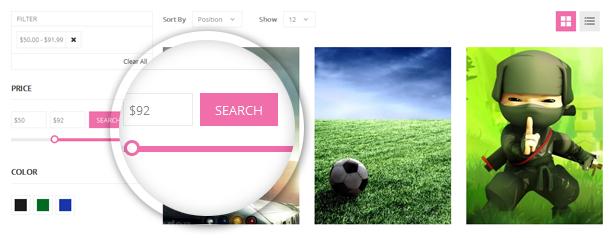 Smlieshop - Listing Page