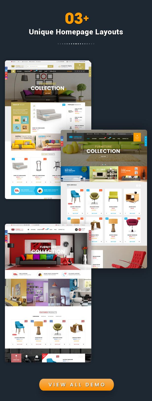 Furnicom - Responsive Drag & Drop Shopify Furniture Theme