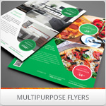 Multipurpose Corporate Flyers, Magazine Ads vol. 3