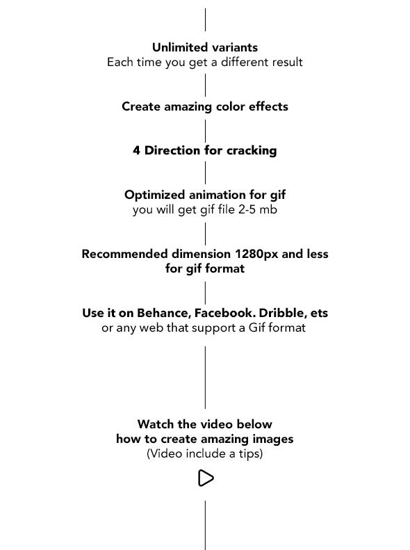 Gif Animated Crack Kit Photoshop Action - 19