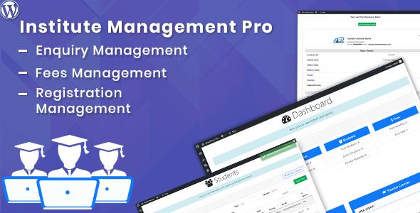 Institute-Management-WordPress-Plugin-CodeCanyon Item for Sale