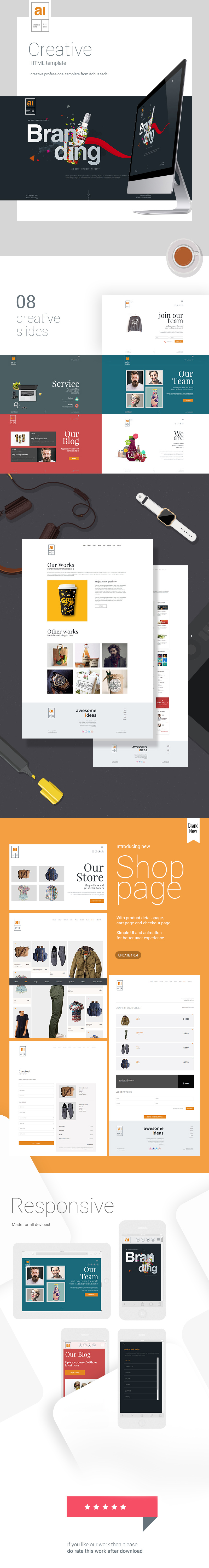Awesome Ideas | Professional HTML Theme - 3