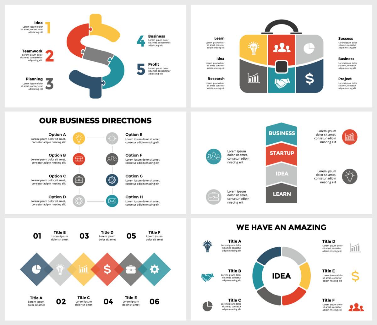 Huge Infographics Bundle! Lifetime Updates! PowerPoint, Photoshop, Illustrator. - 99