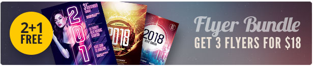 New Year Flyer Bundle Vol.03