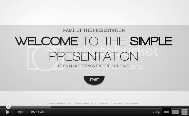 Minimal powerpoint template by excedoros graphicriver demo toneelgroepblik Image collections