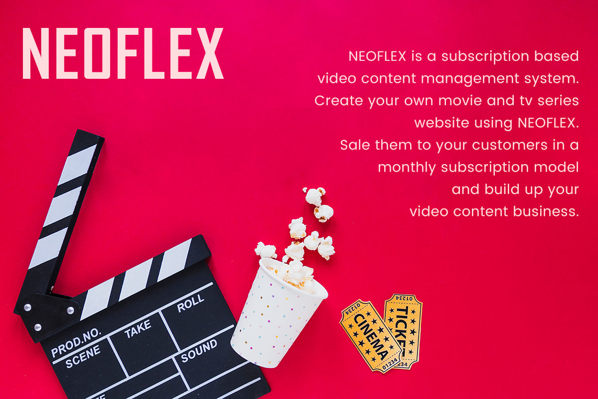 Neoflex Movie Subscription Portal Cms - 1