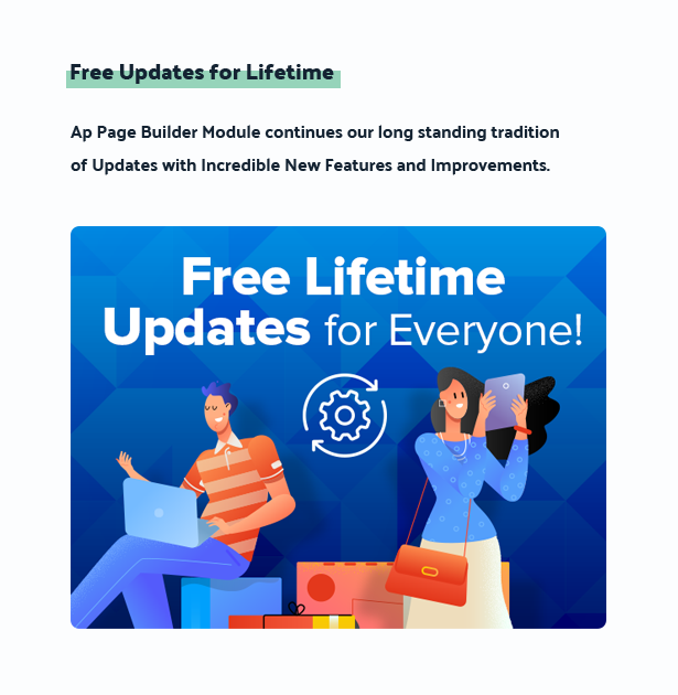 free updates for lifetime