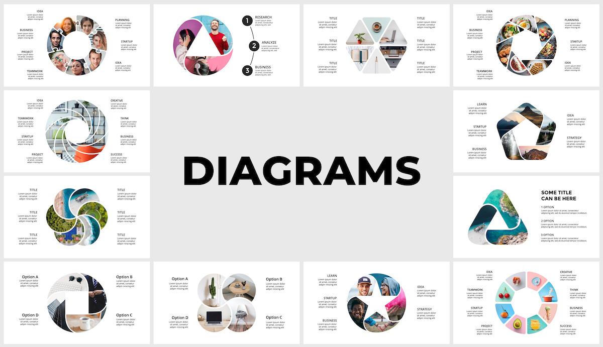 Huge Infographics Bundle! Lifetime Updates! PowerPoint, Photoshop, Illustrator. - 159