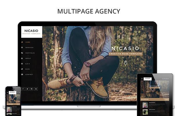 Nicasio Creative Muse Template - 5