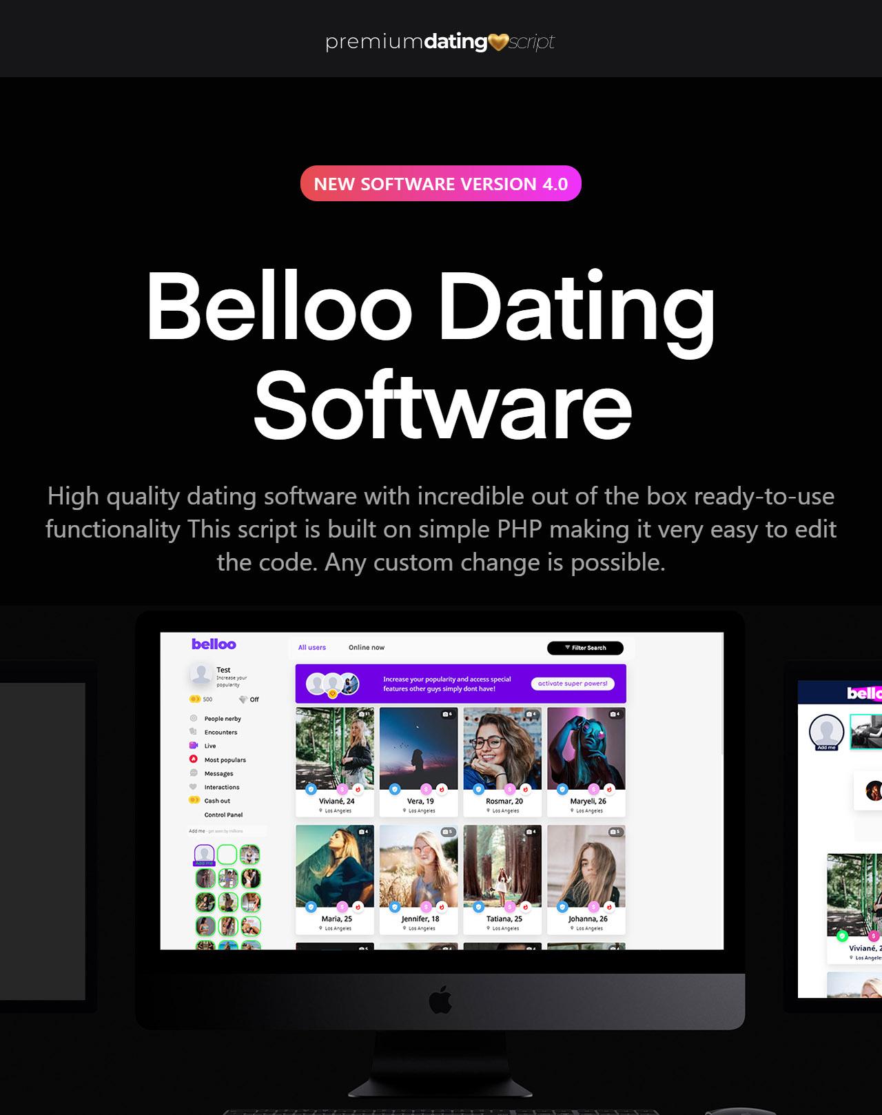 Belloo - Complete Premium Dating Software - 2