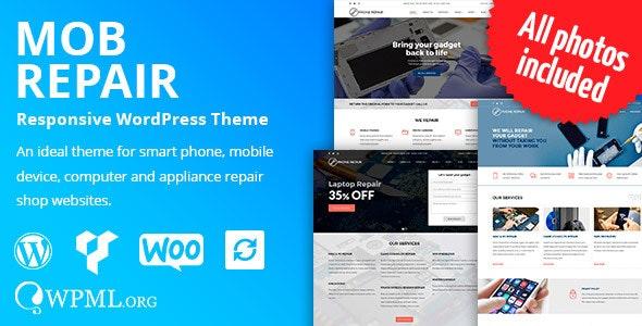 MobRepair - Mobile Phone Repair Services WordPress Theme