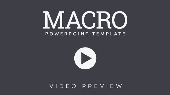 Macro Video Preview