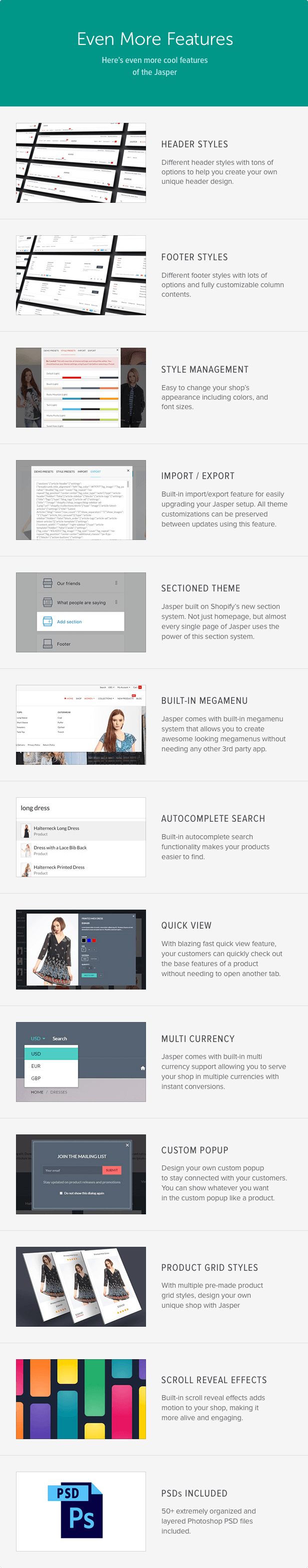 Jasper - Sectioned Drag&Drop Shopify Theme - 13