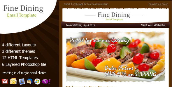 Fine Dining - Newsletter