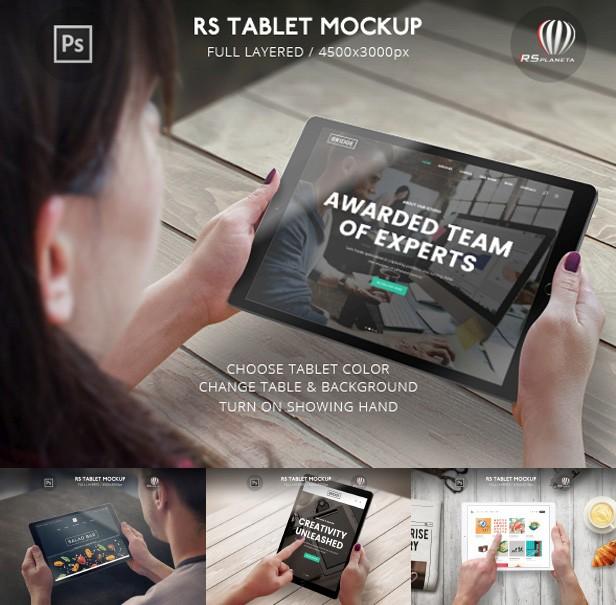Phone S6 High Resolution Mockup Set  - 4