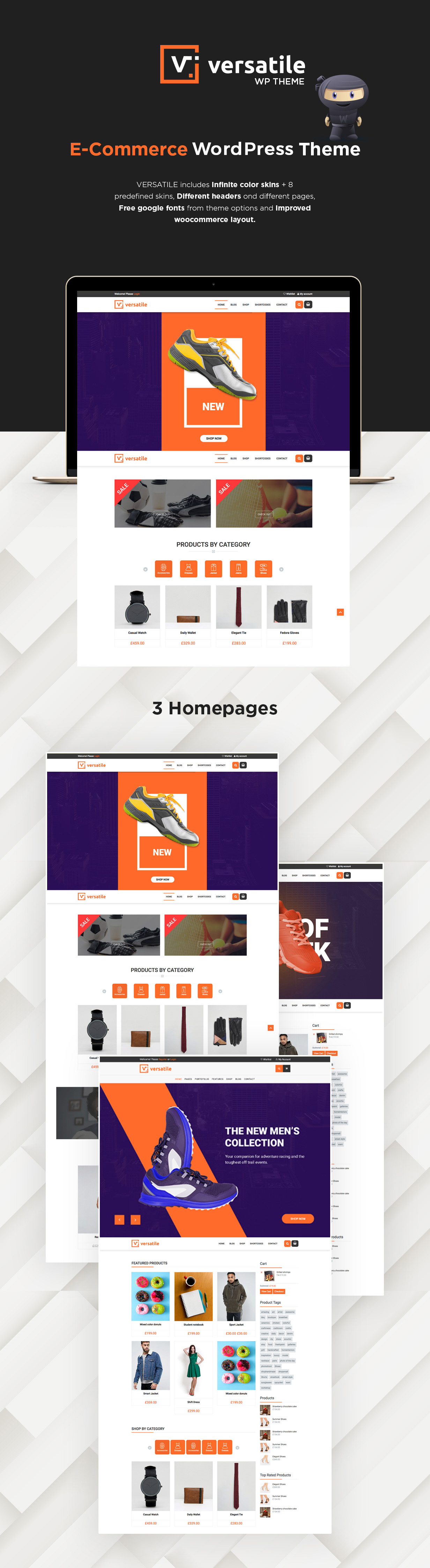 Versatile - Multipurpose WooCommerce WordPress Theme - 1