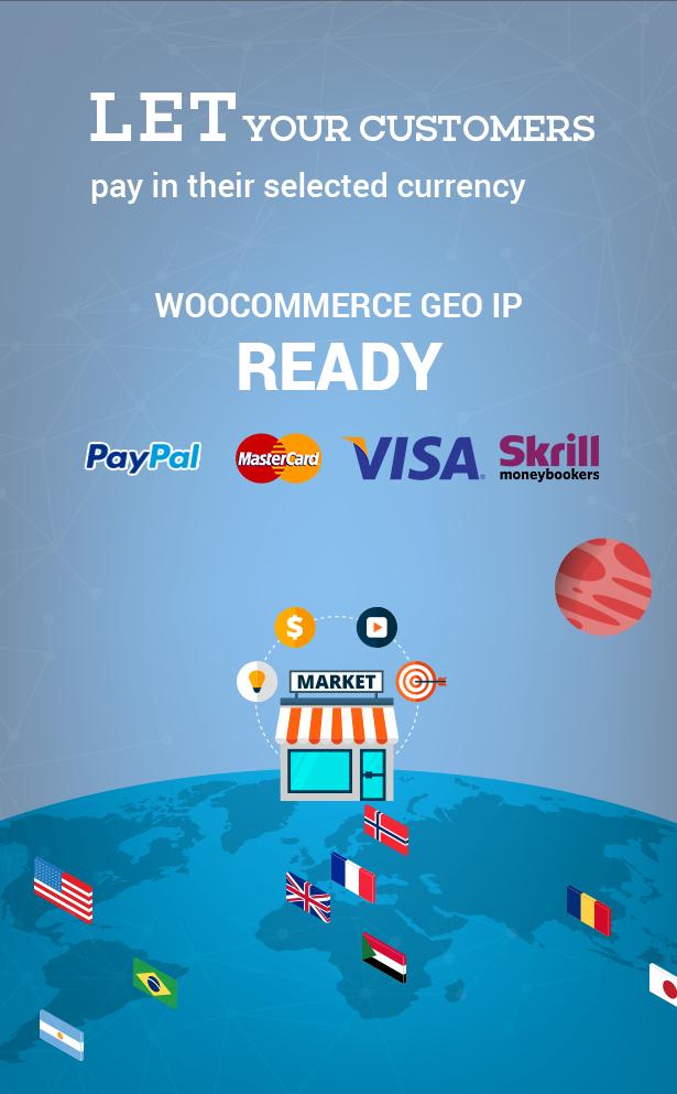 WOOCS WooCommerce Currency Switcher v.2.3.7
