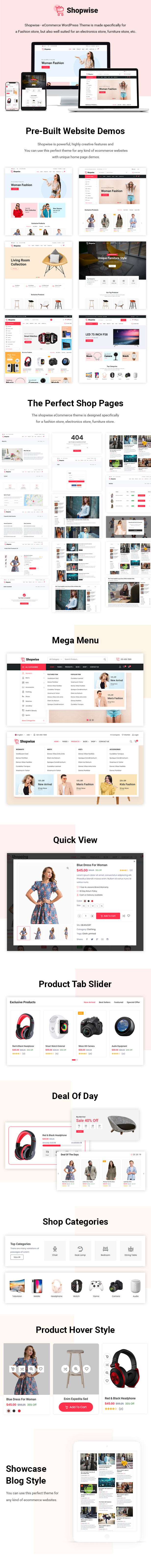 Shopwise - Minimal WooCommerce WordPress Theme - 3