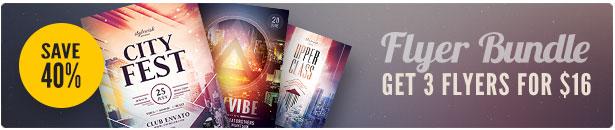 City Flyer Bundle Vol.12