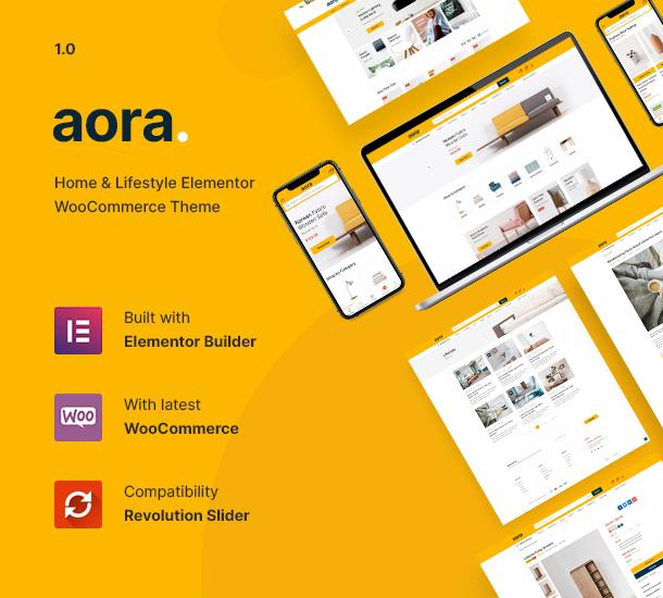 Aora-家具/家居生活用品商城wordpress主题[更至v1.0.9]插图2