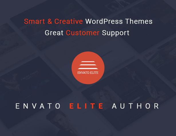 Envato Elite Author - WordPress Themes