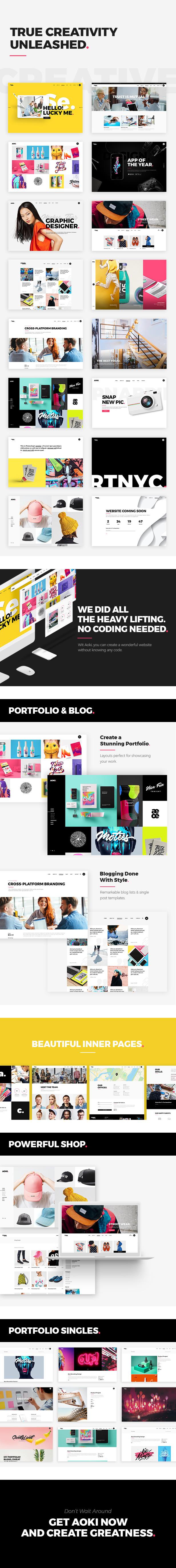 Aoki - Creative Design Agency Theme - 2