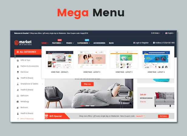 emarket - HTML5 Theme