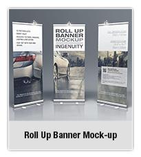Bifold Brochure Mock-up 02 - 5