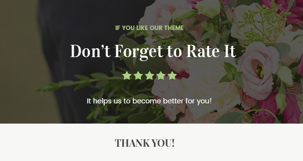 Flowers Boutique and Florist WordPress Theme - 2