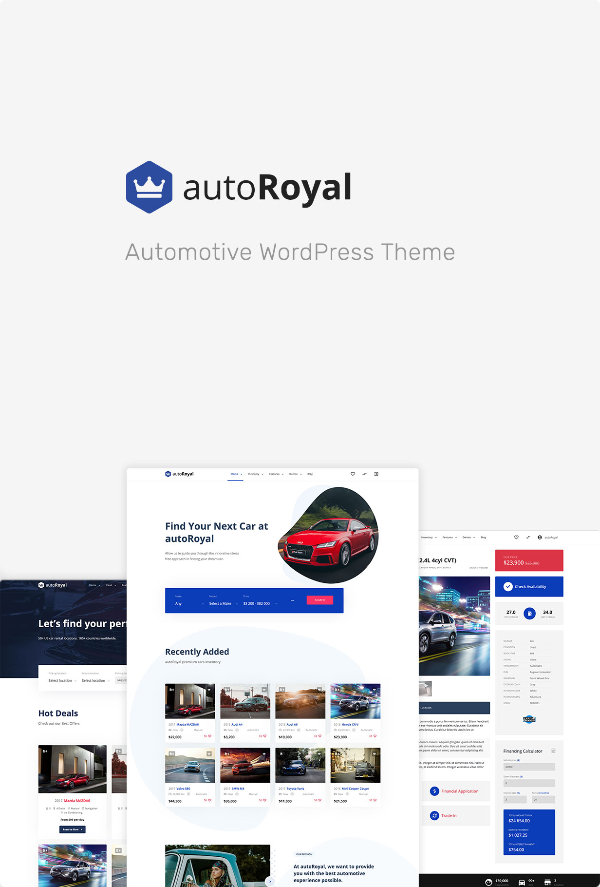 autoRoyal - Automotive WordPress Theme - 3