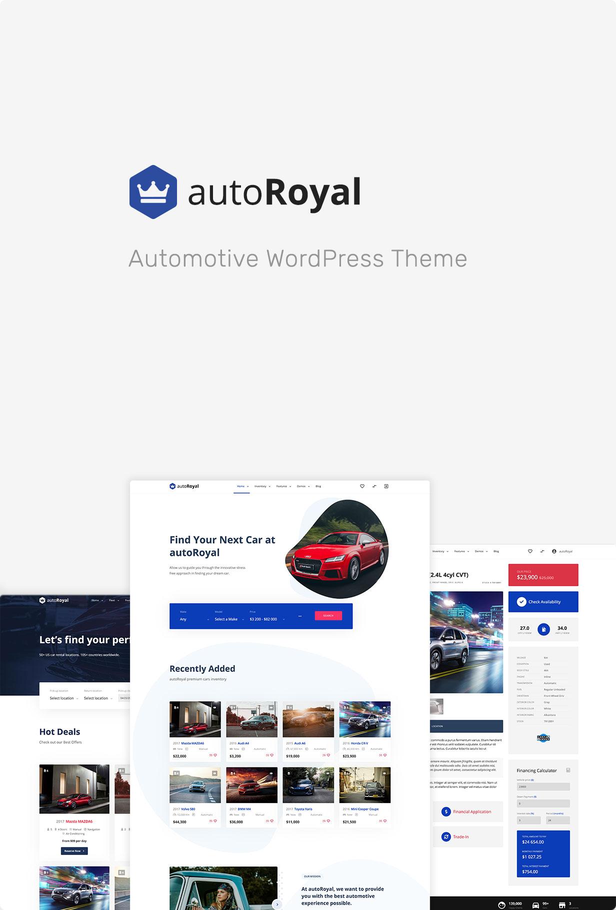 autoRoyal - Automotive WordPress Theme - 3