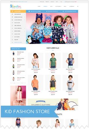 Kids Fashion Store