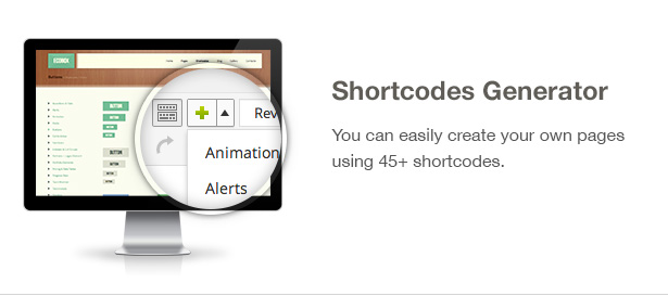 Ecobox WordPress Theme Features: Shortcodes