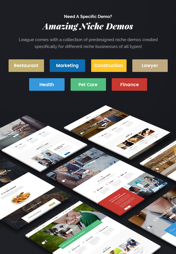 Business League - A Powerful Theme for Business, Freelancers and Agencies - 6