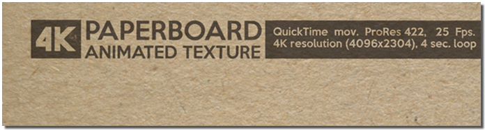 Paperboard Animated Texture