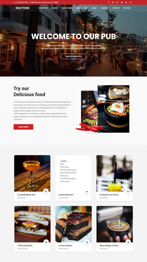 Payton - Business Creative WordPress Theme - 4