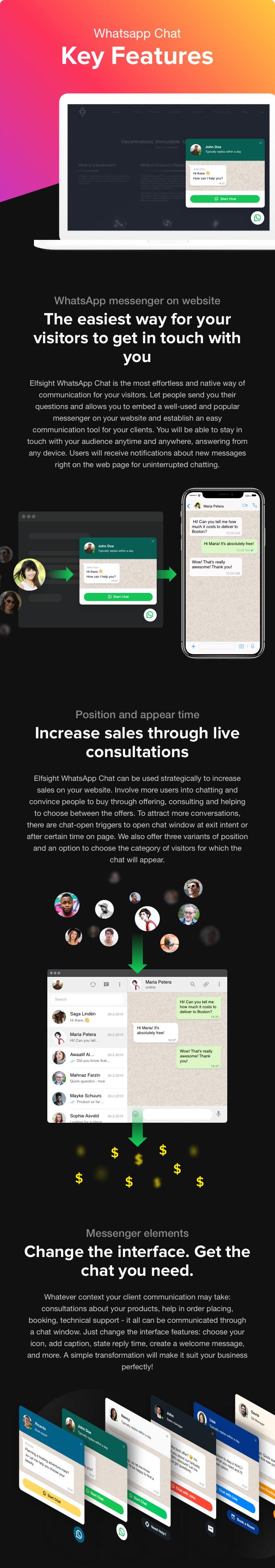 WhatsApp Chat - WordPress WhatsApp Chat - 1