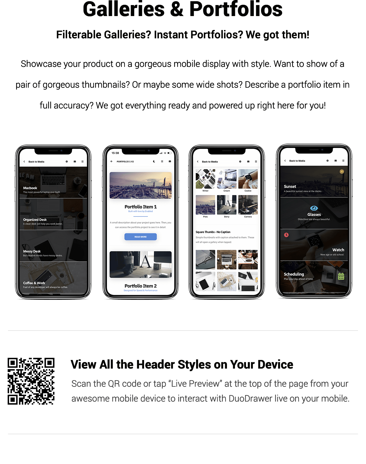 DuoDrawer Mobile   PhoneGap & Cordova Mobile App - 11