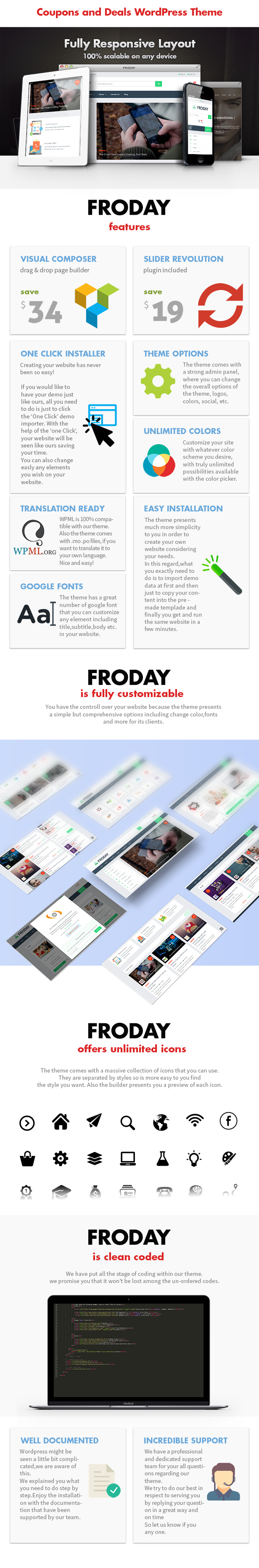 Froday – Coupons and Deals WordPress Theme