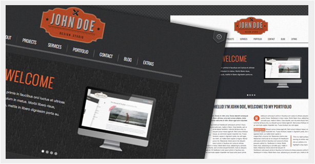 Retro Scroll - Creative One Page Html Template - 1