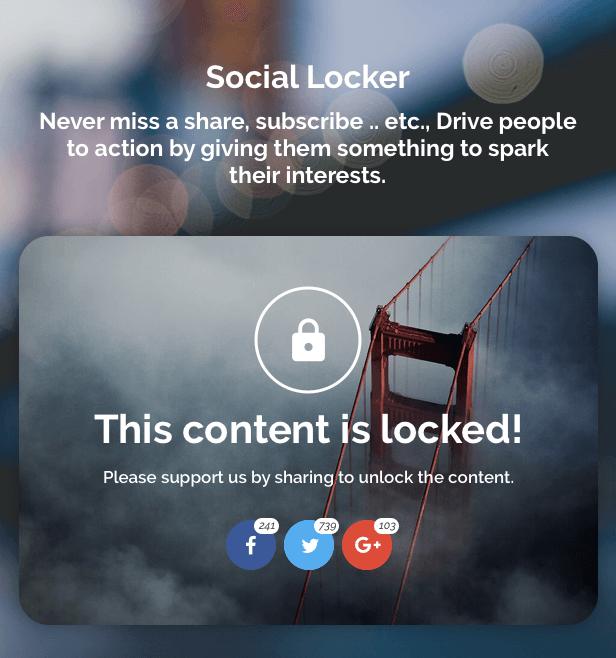 ShareBang, WordPress için Ultimate Sosyal Hisse Düğmeler. - 10