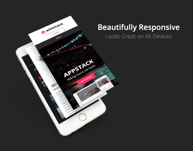 AppStack - One Page App Theme - 4