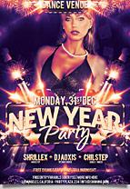Xmas Sexy Night Party Flyer - 5