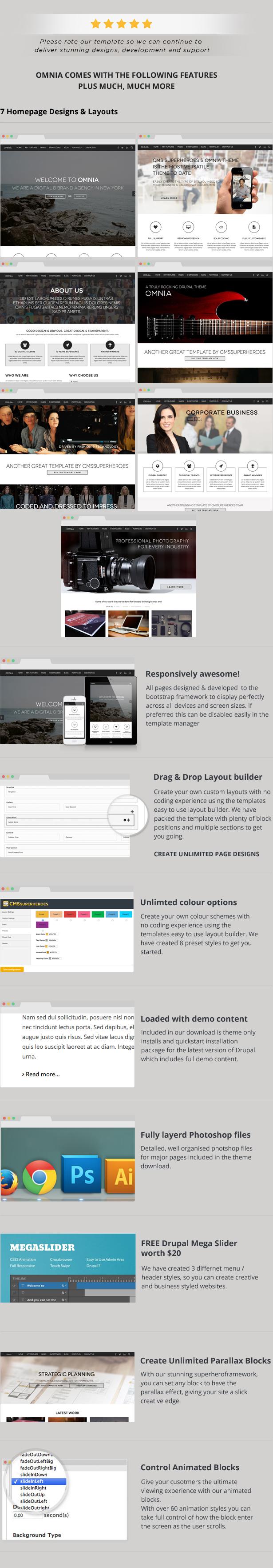Omnia - Multi Purpose Agency Drupal Theme - 2