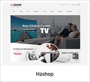 H2shop - Multipurpose WordPress Theme