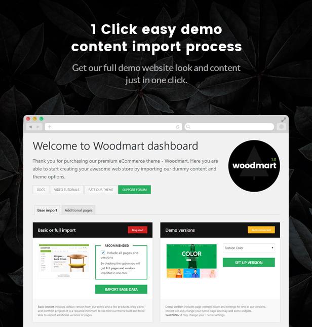 Theme Woodmart 4.5.1