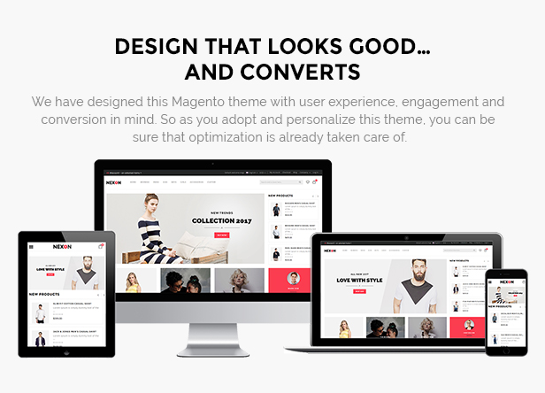 Apparel responsive theme
