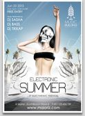 Summer Dj Flyer Template